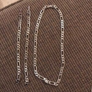 Other - Chain necklace and bracelets